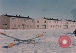 Image of quarters Alaska Elmendorf Air Force Base USA, 1954, second 5 stock footage video 65675035012