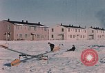 Image of quarters Alaska Elmendorf Air Force Base USA, 1954, second 10 stock footage video 65675035012