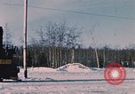 Image of US Army  Alco S-2 locomotive Fort Richardson Alaska USA, 1954, second 4 stock footage video 65675035013