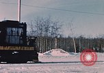 Image of US Army  Alco S-2 locomotive Fort Richardson Alaska USA, 1954, second 5 stock footage video 65675035013