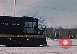 Image of US Army  Alco S-2 locomotive Fort Richardson Alaska USA, 1954, second 6 stock footage video 65675035013