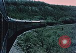 Image of railroad train Alaska USA, 1954, second 4 stock footage video 65675035017