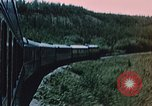Image of railroad train Alaska USA, 1954, second 5 stock footage video 65675035017