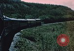 Image of railroad train Alaska USA, 1954, second 7 stock footage video 65675035017