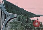Image of railroad train Alaska USA, 1954, second 10 stock footage video 65675035017