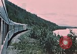 Image of railroad train Alaska USA, 1954, second 11 stock footage video 65675035017
