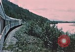 Image of railroad train Alaska USA, 1954, second 12 stock footage video 65675035017