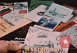 Image of magazines Alaska Elmendorf Air Force Base USA, 1954, second 10 stock footage video 65675035020