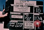 Image of Lake Louise fishing camp Lake Louise Alaska USA, 1954, second 2 stock footage video 65675035022