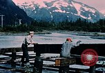 Image of workers Portage Alaska USA, 1954, second 3 stock footage video 65675035023