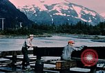 Image of workers Portage Alaska USA, 1954, second 4 stock footage video 65675035023