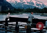 Image of workers Portage Alaska USA, 1954, second 7 stock footage video 65675035023