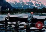 Image of workers Portage Alaska USA, 1954, second 8 stock footage video 65675035023