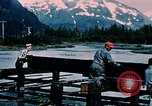 Image of workers Portage Alaska USA, 1954, second 9 stock footage video 65675035023