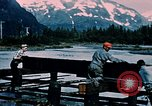 Image of workers Portage Alaska USA, 1954, second 10 stock footage video 65675035023