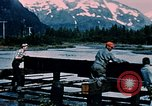 Image of workers Portage Alaska USA, 1954, second 11 stock footage video 65675035023