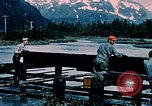 Image of workers Portage Alaska USA, 1954, second 12 stock footage video 65675035023