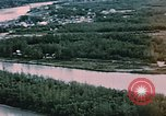 Image of Aerial views of Nenana and vicinity, Alaska Nenana Alaska USA, 1954, second 3 stock footage video 65675035024