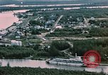 Image of Aerial views of Nenana and vicinity, Alaska Nenana Alaska USA, 1954, second 9 stock footage video 65675035024