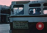 Image of bus Anchorage Alaska USA, 1954, second 5 stock footage video 65675035026