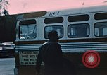 Image of bus Anchorage Alaska USA, 1954, second 9 stock footage video 65675035026