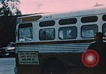 Image of bus Anchorage Alaska USA, 1954, second 11 stock footage video 65675035026