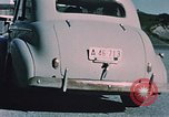 Image of civilian car Kodiak Alaska USA, 1954, second 8 stock footage video 65675035028