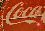 Image of Coca Cola thermometer Alaska USA, 1954, second 11 stock footage video 65675035033