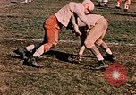 Image of American football players Alaska USA, 1954, second 11 stock footage video 65675035038