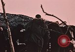 Image of 105mm howitzer gun Fort Richardson Alaska USA, 1954, second 8 stock footage video 65675035053
