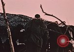 Image of 105mm howitzer gun Fort Richardson Alaska USA, 1954, second 9 stock footage video 65675035053