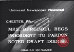 Image of Bergdoll Chester Pennsylvania USA, 1940, second 1 stock footage video 65675035071