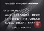 Image of Bergdoll Chester Pennsylvania USA, 1940, second 2 stock footage video 65675035071