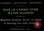 Image of five mile canoe race Guernewood California USA, 1929, second 6 stock footage video 65675035083