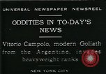 Image of Vittorio Campolo New York City USA, 1929, second 1 stock footage video 65675035084
