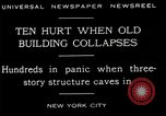 Image of New York City building collapses New York City USA, 1929, second 1 stock footage video 65675035086