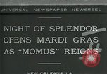 Image of Mardi Gras New Orleans Louisiana USA, 1930, second 1 stock footage video 65675035088