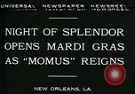 Image of Mardi Gras New Orleans Louisiana USA, 1930, second 5 stock footage video 65675035088