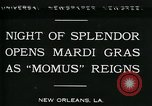 Image of Mardi Gras New Orleans Louisiana USA, 1930, second 6 stock footage video 65675035088