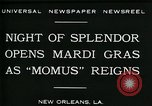 Image of Mardi Gras New Orleans Louisiana USA, 1930, second 8 stock footage video 65675035088