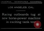 Image of horse power motorbike Los Angeles California USA, 1930, second 2 stock footage video 65675035090