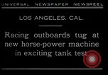 Image of horse power motorbike Los Angeles California USA, 1930, second 4 stock footage video 65675035090