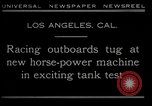 Image of horse power motorbike Los Angeles California USA, 1930, second 6 stock footage video 65675035090