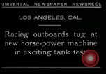 Image of horse power motorbike Los Angeles California USA, 1930, second 7 stock footage video 65675035090