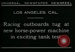 Image of horse power motorbike Los Angeles California USA, 1930, second 10 stock footage video 65675035090
