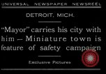 Image of miniature town Detroit Michigan USA, 1930, second 3 stock footage video 65675035091