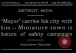 Image of miniature town Detroit Michigan USA, 1930, second 5 stock footage video 65675035091
