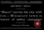 Image of miniature town Detroit Michigan USA, 1930, second 8 stock footage video 65675035091