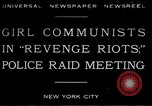 Image of communists New York City USA, 1930, second 1 stock footage video 65675035094