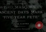 Image of masques Telfs Austria, 1930, second 1 stock footage video 65675035095